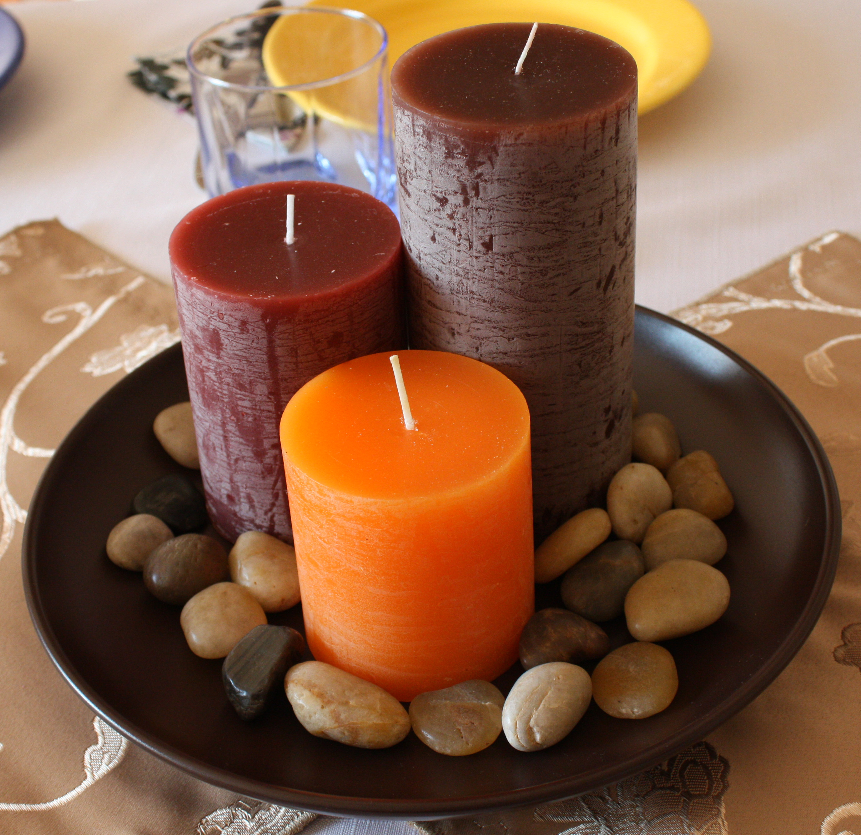 autumn candles new autumn interior design idea for 2010